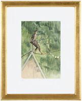 """Fine Toulouse Lautrec """"La Danseuse' Hand Numbered 15/20 Lithograph Unframed COA"""