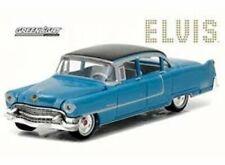 GREENLIGHT 84093 1/24 1955 CADILLAC FLEETWOOD BLUE ELVIS PRESLEY