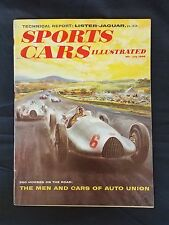 Sports Cars Illustrated July 1958 Simca Montlhery  Sunbeam Rapier  Austin Healey