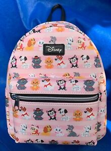 LOUNGEFLY DISNEY CATS AND DOGS MINI BACKPACK NEW UK SELLER