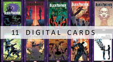 Topps Marvel Collect BLACK PANTHER COVER COLLECTION [11 CARD SET]