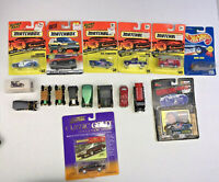 16 New / Used Matchbox Hot Wheels RD Johnny Lightning Die Cast Lot