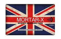 MORTAR-X RFID NFC Blocking Card - Contactless Cards Wallet & Purse ID Protector