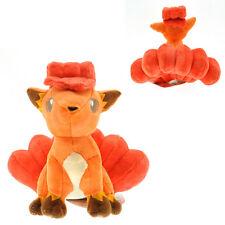 Pokemon Vulpix Figure 6in Stuffed Animal Nintendo Game Fox Plush Soft Kid Toy