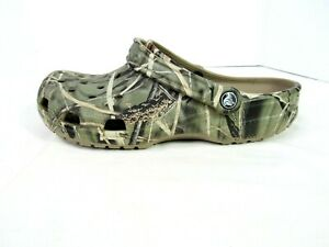 CAMO Crocs Realtree V2 Max 4 Classic  Clog Shoes Mens Size 10 or Women's Size 12