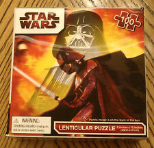 Star Wars Lenticular Jigsaw Puzzle 2010 Cardinal Clone Wars 100 piece New Sealed