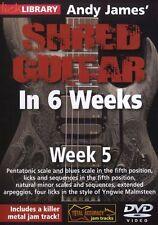 Fare clic su Libreria ANDY James Straccio Chitarra in 6 settimane di imparare a giocare MALMSTEEN DVD 5