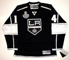 JUSTIN WILLIAMS 2014 STANLEY CUP LOS ANGELES KINGS REEBOK PREMIER JERSEY