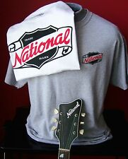 VINTAGE NATIONAL GUITAR T-SHIRT SMALL - MEDIUM - LARGE AND EXTRA LARGE