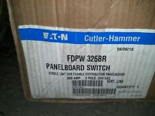 CUTLER HAMMER  FDPW326BR FUSIBLE DISTRIBUTION PANEL BOARD SWITCH 600A 3POLE