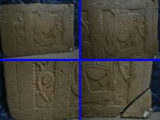 Paire de Panneaux decoratifs en pierre Eléphants Inde