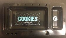 Black Cookies Harvest Club Rolling Tray 2.0 W/ Slideout Tray & FREE Blunt Magic