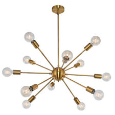 Sputnik Chandelier 8/12 Light Ceiling Hanging Fixture Adjustable Pendant Lights