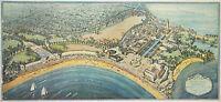 1922 Map Playland Rye Beach Westchester County New York Bird's Eye View Poster