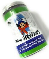 Disney Parks Ink & Paint 2 Pc. Pin Jar Box Mystery Collection Sealed Mickey NEW