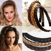 Women Plait Braided Hair Band Headband Wedding Headdress Hair Accessories