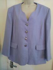 Debenhams Ladies Classic Lilac  Jacket Blazer Lined Size 20 H