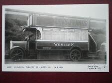 POSTCARD RP LONDON 'PIRATES' BUS II WESTERN 1924