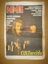 NME 1987 DEC 5 CULT MICHAEL JACKSON SUZANNE VEGA JAMMS