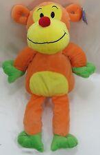 "16""  Monkey Orange Yellow Green Plush Stuffed Animal Royal Plush New"