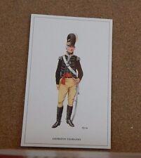 Military Uniforms Postcard Grimston Yeomanry .unposted