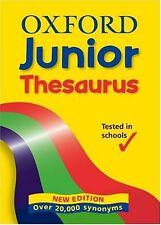 OXFORD JUNIOR THESAURUS,Hachette Children's Books- 9780199108572