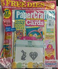 Paper Crafter UK Issue 106 Lets Make Cards 5 Free Dies Easter FREE SHIPPING sb