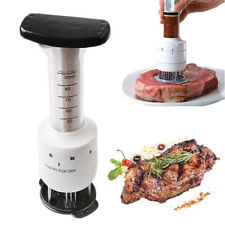 Meat Tenderizer Needle Injector Marinade Steaks Flavor Syringe Cook Kitchen Tool