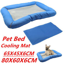 Pet Cooling Mat Cooling System Breathable Dog Cat Mat Bed Pad Cushion Summer