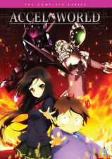 Accel World . The Complete Series Collection . Anime . 4 DVD . NEU . OVP