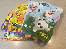 BENDON Kids Books Lot of 7 Disney Frozen Sesame Street Scooby Doo!