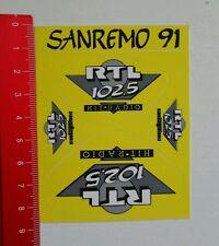 Aufkleber/Sticker: Sanremo 91 - RTL 102.5 Hit Radio (15081610)