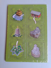 Carcassonne Mini Expansion - Japanese Temples, Brand New with English Rules