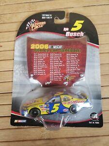 Winners Circle NASCAR KYLE BUSCH 2006 NEXTEL CUP SCHEDULE #5 NEW RARE 1:64 MINT