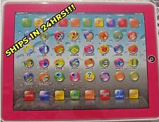 "Y-pad English Tablet Learning Education Machine Toy 9.5"" Gifts for Kids Pink"