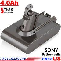 21.6V 4.0Ah Battery For Dyson V6 SV03 SV04 SV09 SV06 DC58 DC59 DC61 DC62 Animal