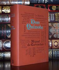 Don Quixote by Miguel de Cervantes Brand New Unabridged Deluxe Soft Leather Feel