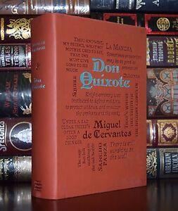 New Don Quixote by Miguel de Cervantes Unabridged Deluxe Soft Leather Feel