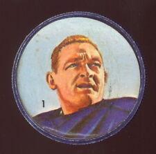 1963 CFL NALLEY'S FOOTBALL HUMPTY DUMPTY COIN #1 Jackie Parker Toronto Argonauts