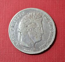 FRANCE, 5 Francs 1833-BB, silver coin - 24,7 gr        [#6909]