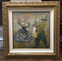 Vologymyr Podlevsky 2000 The Family Oil On Linen Painting Original Artwork