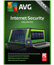 AVG Internet Security I 1-Year I Unlimited Devices I Retail Keycode Download