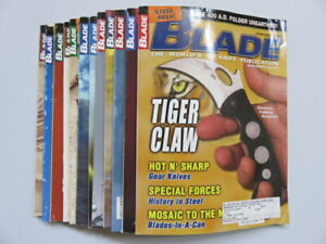 2003 Complete Year BLADE Magazines Knives Volume 30 Issues 1-12