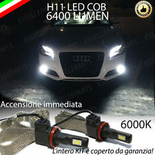KIT H11 LED FENDINEBBIA AUDI A3 8P RESTYLING CANBUS 6400 LUMEN NO ERROR XENON