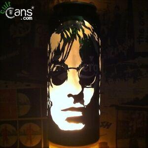 Liam Gallagher Beer Can Lantern! Oasis, Pop Art Portrait Candle Lamp Unique Gift