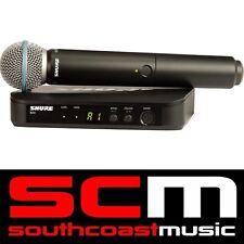 Shure BLX24 / Beta58 Mic Handheld Wireless Microphone System K14 Brand New