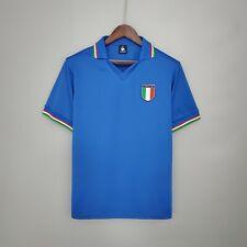 Maglia ITALIA Mondiale 1982 maglietta calci retro vintage azzurri 82 Paolo Rossi