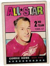 1967-68 #131 Gordie Howe AS HOF ** Topps NHL Hockey Card **