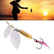 Noise Sequins Spinner Spoons Baits Bass Metal Fishing Lure Paillette Artificial
