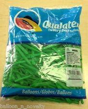 Qualatex Neon Green  260Q Entertainer Balloon 100 ct.